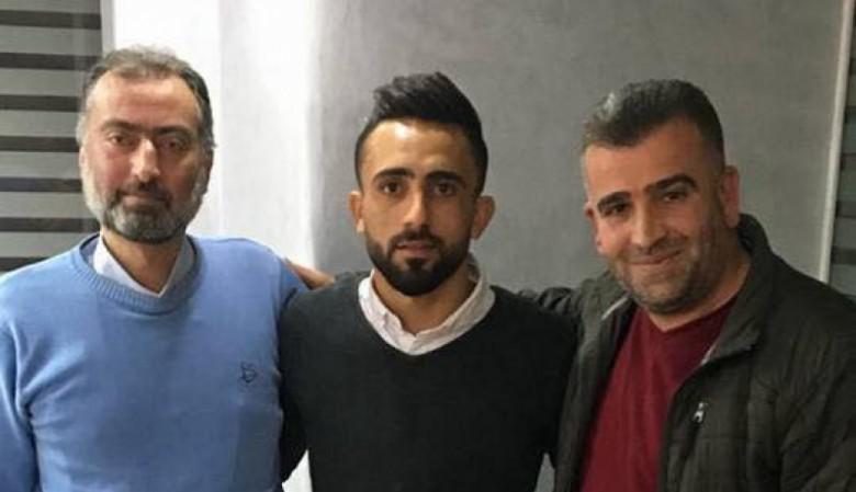 اللاعب أحمد ماهر يوقّع لأهلي الخليل