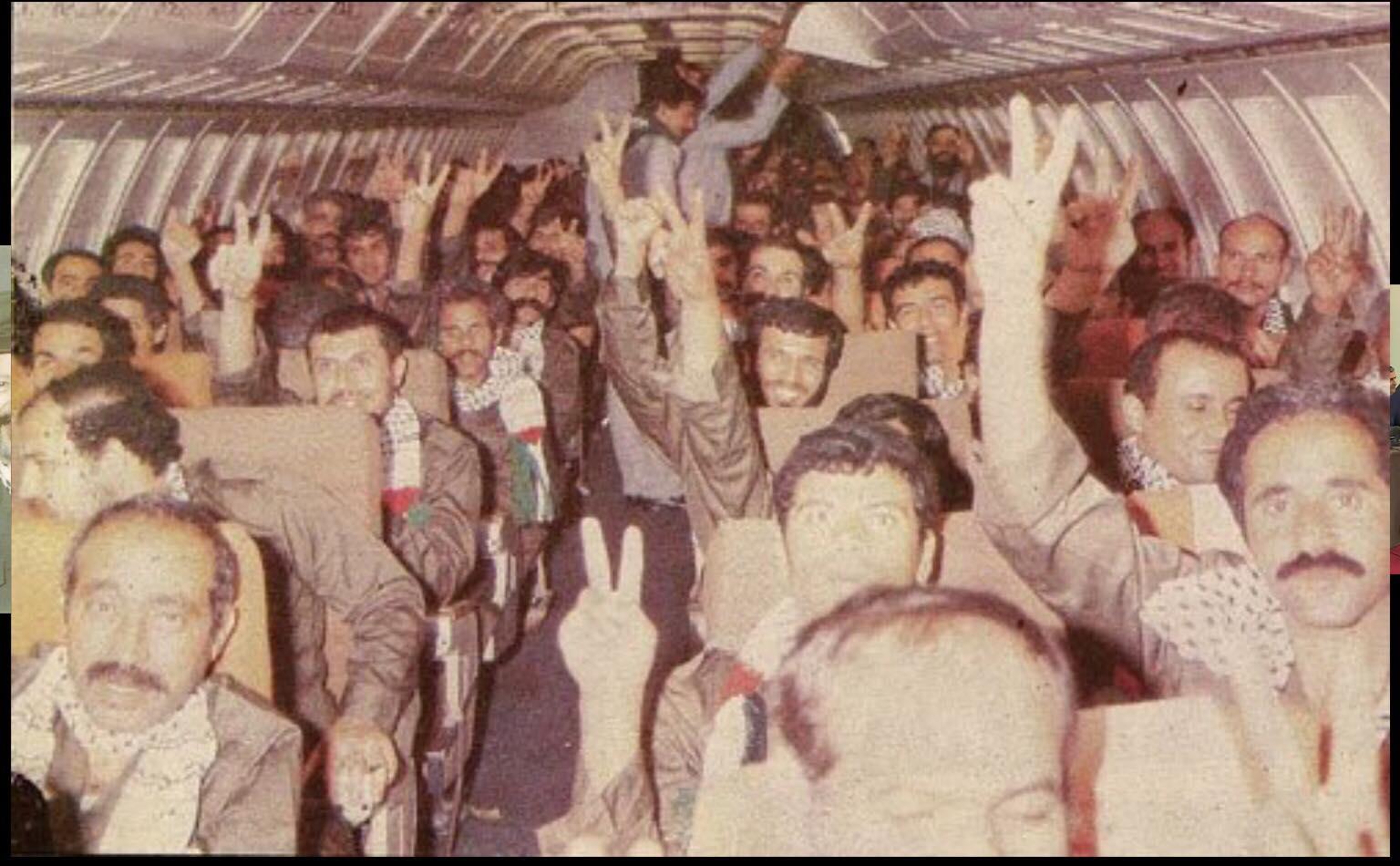 """الأسرى المحررون في صفقة التبادل بين الاحتلال والجبهة الشعبية """"القيادة العامة"""""""