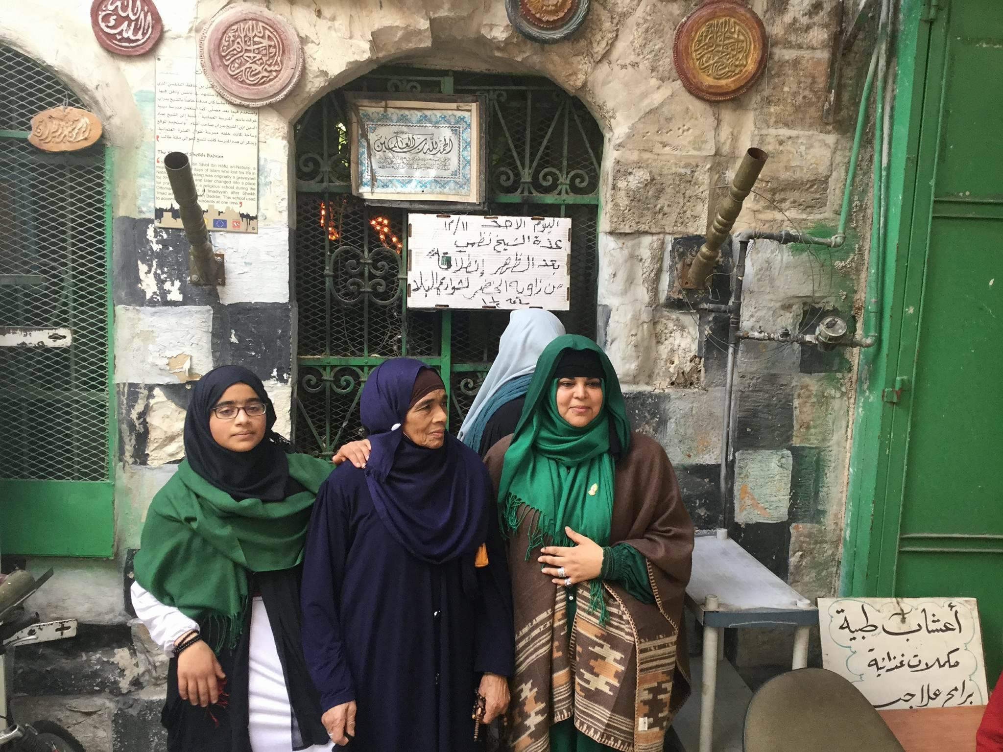 نساء متصوّفات من مدينة نابلس | عدسة: لارا كنعان