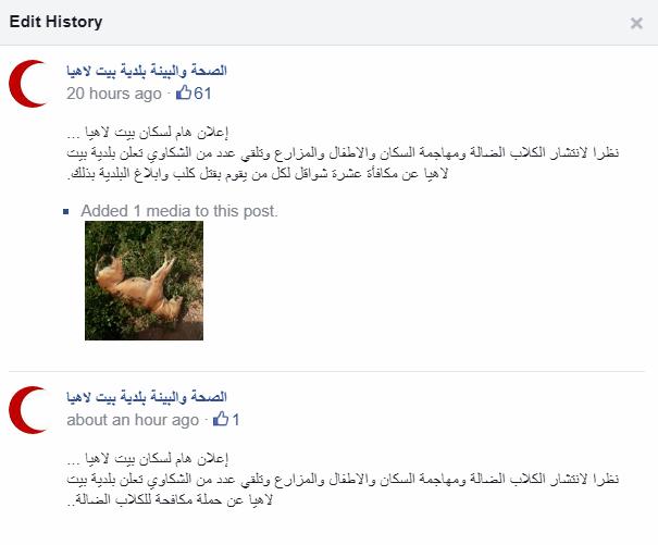 بيت لاهيا: اقتل كلبًا واحصل على 10 شواقل