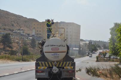 4 قرى شرق رام الله ستُقطع عنها الكهرباء