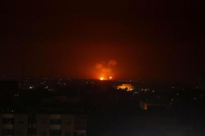 قصف إسرائيلي جنوب دمشق