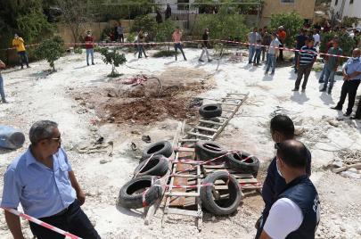 وفاة 6 أشخاص سقطوا في حفرة امتصاصية بالخليل