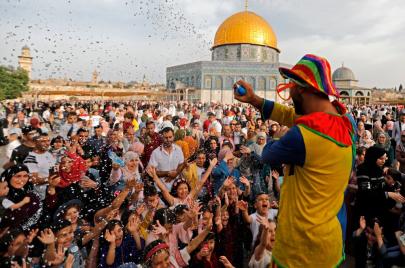 الحراك الشبابي: عيدنا رباط في الأقصى حتى المغرب