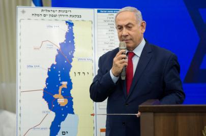 نتنياهو يكشف عن مصير الفلسطينيين في الأغوار بعد الضم