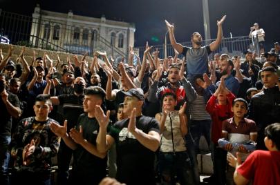 فيديو وصور | المقدسيون يحتفلون بالانتصار