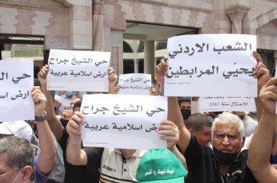فيديو وصور | الآلاف يحتشدون في عمّان دعمًا للقدس