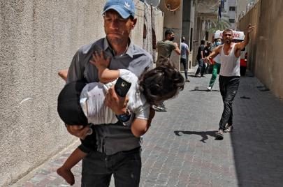 3 شهداء و8 جرحى بقصف شقّة وسط غزة