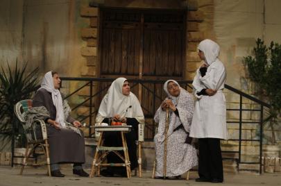 في غزة.. صناعة الممثلات