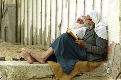 بعد السبعين.. عجائز في غزة يطلبون الزواج