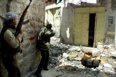 عن المواجهة في نابلس القديمة ومخيّم جنين 2002