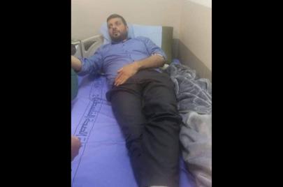 سائد أبو بهاء من سجن المخابرات إلى المستشفى