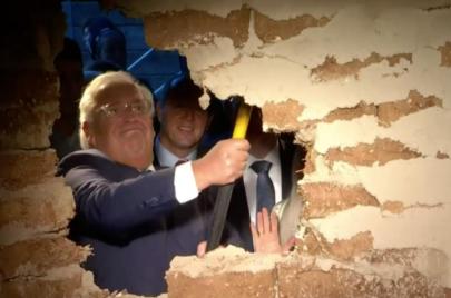 فيديو | فريدمان وجرينبلات يفتتحان نفقًا تهويديًا في القدس