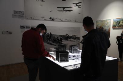 معرض فلسطين من الأعلى: الاستعمار أخفى الفلسطيني